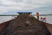 Cần Thơ quyết xóa nạn vận chuyển, khai thác cát lậu
