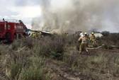 Máy bay chở hơn 100 người rơi sau khi cất cánh ở Mexico