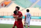 Clip 3 bàn thắng đẹp mắt giúp Olympic Việt Nam giành 3 điểm trước Pakistan