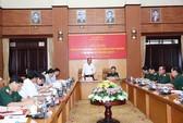 Bộ Chính trị kiểm tra đối với Ban Thường vụ Quân ủy Trung ương