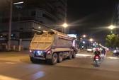 Xe tải nặng gây khiếp hãi ở nội đô