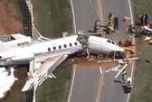 Trượt đường băng, máy bay gãy đôi, cả 2 phi công thiệt mạng