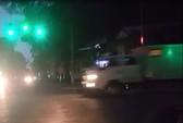 Video đoàn xe đưa ông Đinh La Thăng và đồng phạm đến tòa trong mưa rét