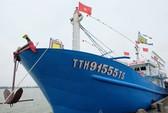 Agribank Thừa Thiên - Huế bàn giao tàu vỏ thép cho ngư dân