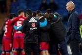 Zidane có nguy cơ mất ghế ở Real Madrid