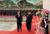Đến Trung Quốc, ông Kim Jong-un nói về ông Trump