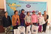 CEP Vĩnh Long tặng quà Tết cho thành viên nghèo