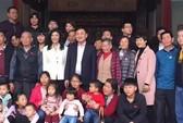 Ông Thaksin và bà Yingluck về thăm tổ tiên ở Trung Quốc