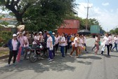 Công ty TNHH Lecien Việt Nam: Tiền lương không rõ ràng, hàng trăm công nhân ngừng việc