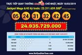 Hai kỳ quay số liên tiếp, hai vé Vietlott trúng tổng cộng 29 tỉ đồng