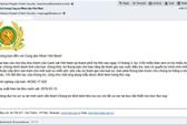 Cảnh báo mã độc tống tiền GandCrab giả danh Bộ Công an