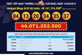 Người trúng Vietlott hơn 44 tỉ đồng vào ngày Giỗ Tổ mua vé ở Cà Mau