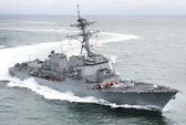Bấp chấp Trung Quốc, tàu chiến Mỹ lại đi qua eo biển Đài Loan