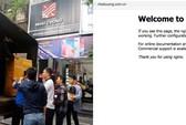 Website, Fanpage của Nhật Cường Mobile đồng loạt
