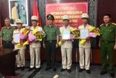 Đà Nẵng: Bổ nhiệm hàng loạt lãnh đạo công an cấp phòng, quận
