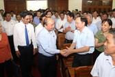 Tiếp xúc cử tri, Thủ tướng Nguyễn Xuân Phúc nhắc tới vụ thanh tra Bộ Xây dựng
