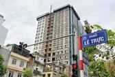 Ông Nguyễn Đức Chung: Đập cả tòa nhà 8B Lê Trực cũng phải làm để giữ kỷ cương!