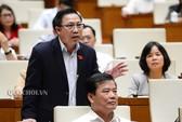 ĐB Lưu Bình Nhưỡng tranh luận với Bộ trưởng Nguyễn Văn Thể về