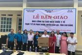 CÔNG ĐOÀN Y TẾ VIỆT NAM: Xây nhà công vụ cho cán bộ y tế vùng sâu