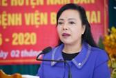 Bộ trưởng Nguyễn Thị Kim Tiến: Đến bệnh viện nào tôi cũng kiểm tra nhà vệ sinh