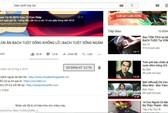 Grab, FPT Shop,  HUAWEI… phải dừng quảng cáo trên các kênh Youtube bẩn