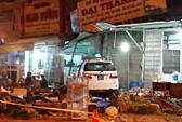 Xe CSGT tông vào tiệm vàng, 1 người tử vong