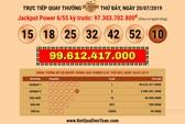 Vé Vietlott trúng gần 100 tỉ đồng được bán ở  Bến Tre