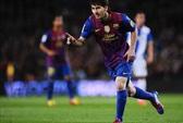 Lionel Messi giành chiếc Giày Vàng châu Âu