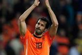 Van Nistelrooy bị loại khỏi tuyển Hà Lan dự Euro 2012