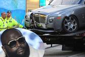 Rapper suýt chết vì bị bắn thẳng vào xe