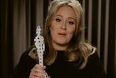 """Adele được vinh danh ở Brit Awards sau sự cố """"ngón tay thối"""""""