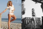 """Kylie Minogue """"chân dài, eo thon"""" trên ảnh lịch"""