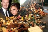 Victoria Beckham bán giày, quần áo giúp Philippines
