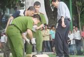 Phát hiện hộp sọ người bên bờ hồ Thiền Quang