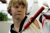 Nữ cao thủ taekwondo không tay