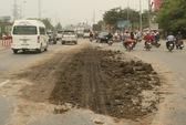 Rải bùn đất trên 1 vài con phố rồi bỏ chạy