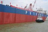 Hạ thủy tàu chở dầu lớn nhất VN