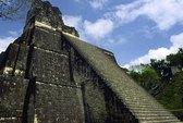 Đền thờ Maya tàn tạ sau