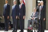 Năm đời tổng thống Mỹ hội tụ tôn vinh TT Bush