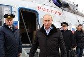 Tránh kẹt xe, ông Putin đi làm bằng trực thăng