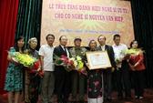 Truy tặng danh hiệu NSƯT cho cố nghệ sĩ Văn Hiệp