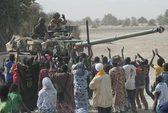 Bão cát chặn đường quân Pháp ở Mali