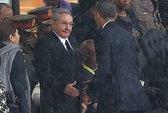 Chủ tịch Cuba nói gì khi bắt tay tổng thống Mỹ?