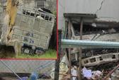 Xe tải đâm xuyên nhà dân, 2 người bị thương nặng
