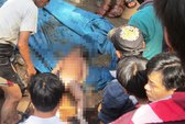 Thanh Hóa: Tìm thấy xác bé 2 tuổi bị lũ ống cuốn trôi