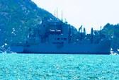 Tàu Hải quân Mỹ vào Cam Ranh sửa chữa