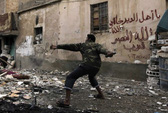 Quân nổi dậy Syria vẫn đánh trước hòa đàm
