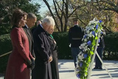 Hai ông Obama, Clinton tưởng nhớ cố Tổng thống Kennedy