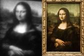 Tranh nàng Mona Lisa nhỏ hơn sợi tóc