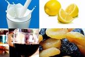 Thực phẩm, đồ uống dinh dưỡng hại men răng